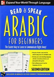 [+]The best book of the month Read and Speak Arabic (Read   Speak)  [READ]