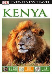 [+]The best book of the month DK Eyewitness Travel Guide Kenya (DK Eyewitness Travel Guides)  [DOWNLOAD]