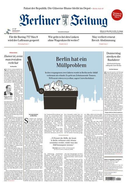 Berliner Zeitung 13.03.2019