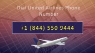 Dial United Airlines Phone Number