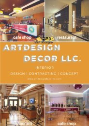 ART DESIGN RESTAURANT AND CAFE PROFILE