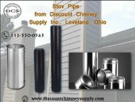 Stove Pipe with the best price from Discount Chimney Supply Inc.