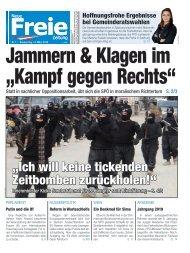 """Jammern & Klagen im """"Kampf gegen Rechts"""""""