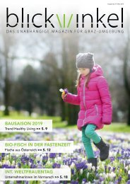 Blickwinkel Magazin März 1