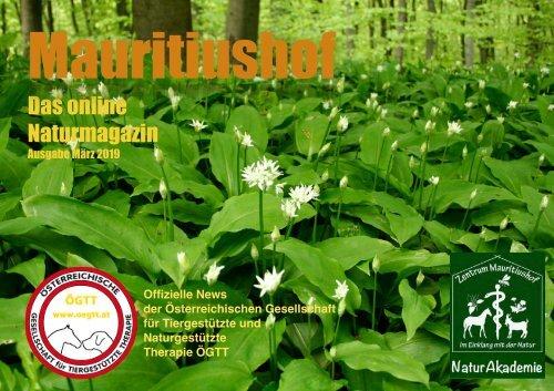 Mauritiushof Naturmagazin März 2019