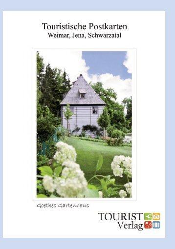 Postkartenbroschüre Tourist Verlag 2019