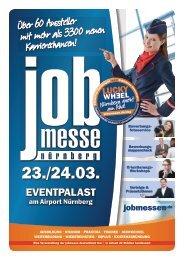 Der Messe-Guide zur 4. jobmesse nürnberg