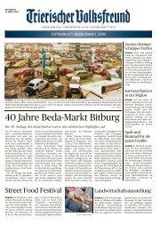 Extrablatt BEDA-MARKT 2019