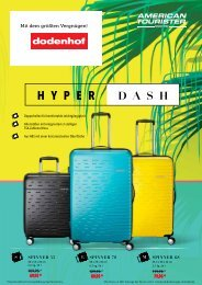 American Tourister-Beilage