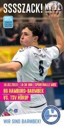 SSSSZACK! HGHB vs. TSV Hürup