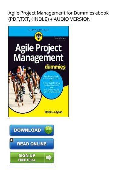 management e-books free pdf project