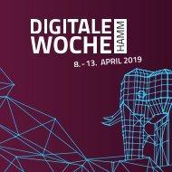Veranstaltungsbroschüre Digitale Woche Hamm