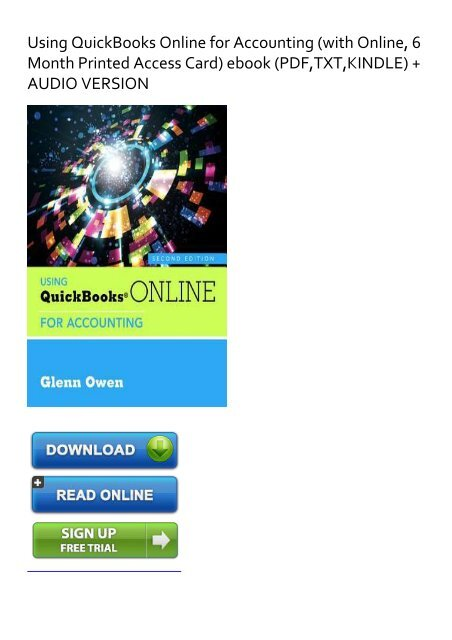 Quickbooks Free Trial Download