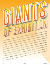 Giants of Exhibition 2019