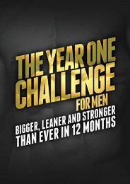 PDF Download (yumpu 3) The Year One Challenge for Men: Bigger, Leaner, and Stronger Than Ever in 12 Months [PDF]