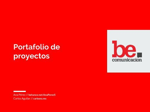BeComm Portafolio