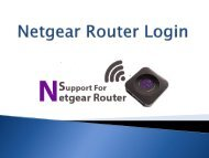 How to Configure your Netgear Router Login and Setup