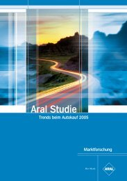 Aral Studie Trends beim Autokauf 2005