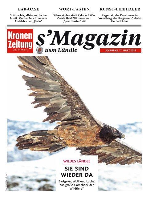 s'Magazin usm Ländle, 17. März 2019