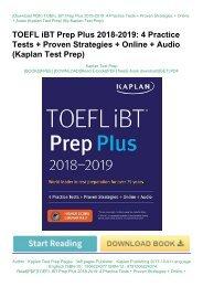 v Vcx) PDF Download TOEFL Pocket Vocabulary: 600 Words + 420 Idioms