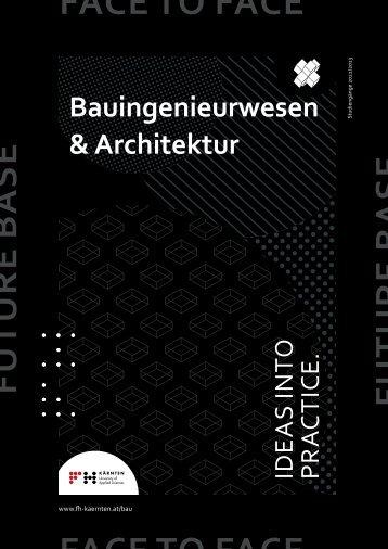 Folder Bauingenieurwesen & Architektur
