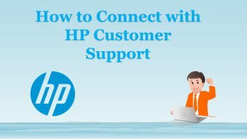 Get Connect to HP Customer Support Number