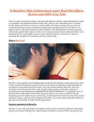 DuraFlex Male Enhancement – Enhance Libido and Bigger Erections!