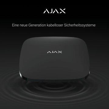 AJAX Produktkatalog 2019