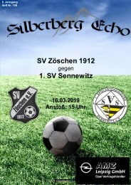 Silberberg Echo | Ausgabe 108-Sennewitz