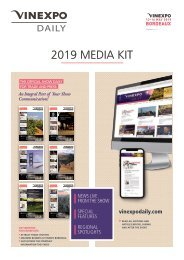Vinexpo Daily Bordeaux 2019 -  Media Kit