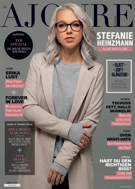 AJOURE´ Magazin April 2019