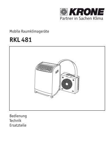 RKL 481 - KRONE Kälte & Klima GmbH