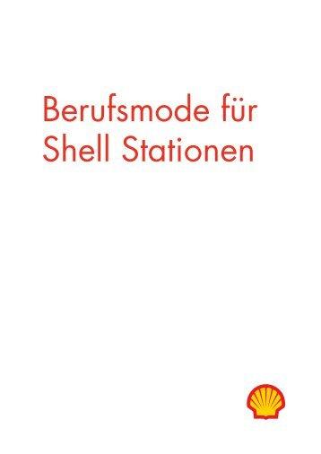 Berufsmode für Shell Stationen - Heimburger