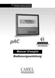 Manuel d'emploi Bedienungsanleitung - KRONE Kälte & Klima GmbH