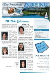 New Hampshire Nursing News - March 2019