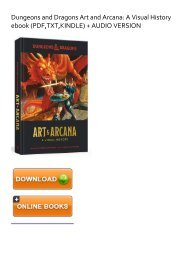 (GRACEFUL) Dungeons and Dragons Art and Arcana: A Visual History ebook eBook PDF