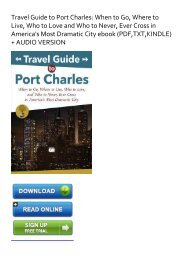 (SPONTANEOUS) Travel Guide to Port Charles: When to Go, Where to Live, Who to Love and Who to Never, Ever Cross in America's Most Dramatic City ebook eBook PDF