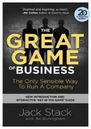 [PDF] The Great Game of Business, Expanded and Updated: The Only Sensible Way to Run a Company by Jack Stack Ebook_READ ONLINE