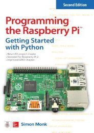 -PDF-Programming-the-Raspberry-Pi-Getting-Started-with-Python-by-Simon-Monk-Read-online