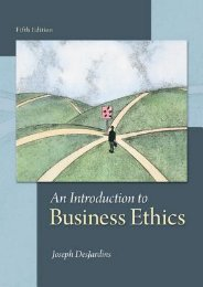 [GET] PDF An Introduction to Business Ethics by Joseph R. DesJardins For Online