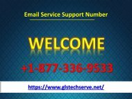 Technical Support For Email Help Number +1-877-336-9533