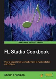 DOWNLOAD in [PDF] Fl Studio Cookbook by Shaun Friedman Full Books