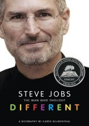 Download Steve Jobs: The Man Who Thought Different by Karen Blumenthal PDF File