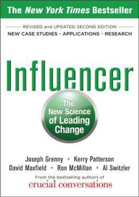 Influencer PDF Free Download