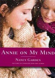 [PDF] Annie on My Mind by Nancy Garden TXT
