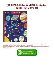 (JACKPOT) Hello, World! Solar System eBook PDF Download