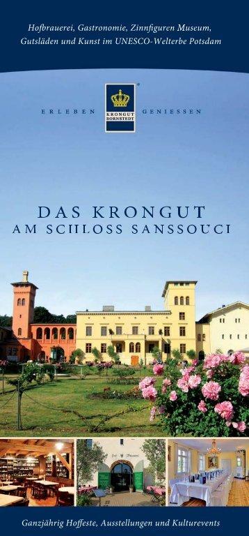 DAS KRONGUT AM SCHLOSS SANSSOUCI - Krongut Bornstedt