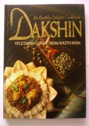 Download Dakshin: Vegetarian Cuisine from South India : An Earthly Delight Cookbook by Chandra Padmanabhan TRIAL EBOOK
