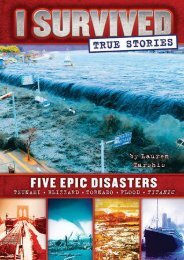 Download [PDF] Five Epic Disasters (I Survived True Stories, #1) by Lauren Tarshis Full Books