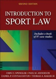 Best [PDF] Introduction to Sport Law with Case Studies in Sport Law by John O. Spengler READ ONLINE